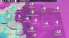 Record-breaking low temperatures in Colorado