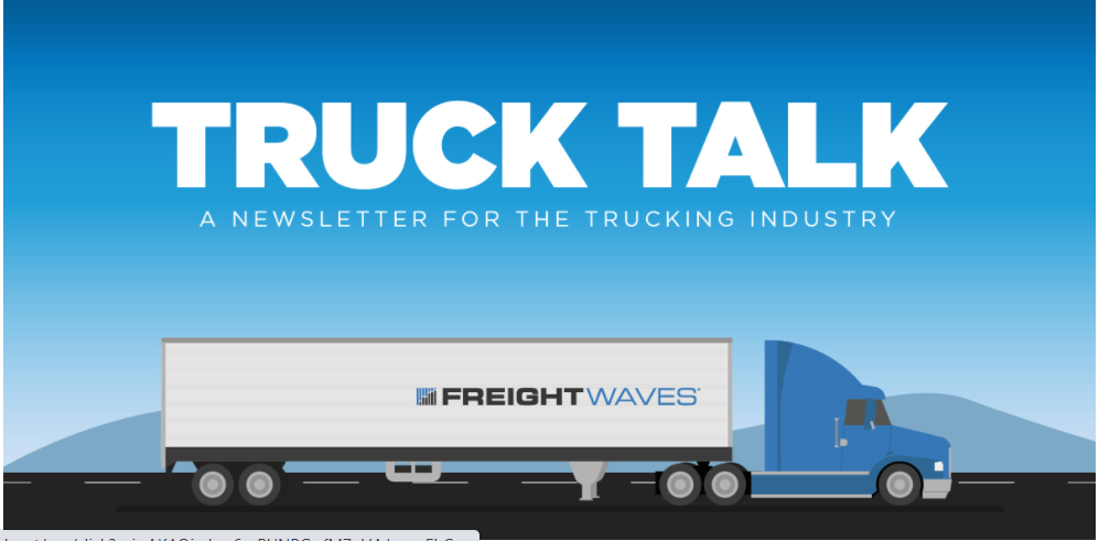 Truck Talk: Technology ramblings edition