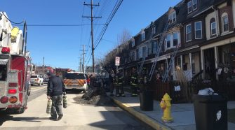 Crews battling structure fire in York City