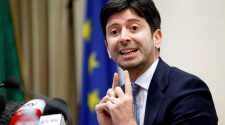 Italy's health minister expects COVID cases to start falling in late spring