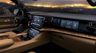Jeep's Wagoneer lineup is loaded with technology and touchscreens