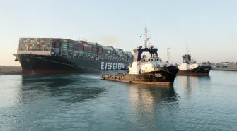 Suez Canal traffic resumes after cargo ship Ever Given is moving again
