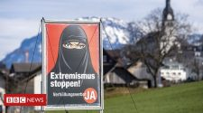 Switzerland referendum: Voters support ban on face coverings in public - BBC News