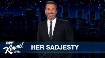 """The Queen """"Saddened"""" After Meghan & Harry's Interview - Jimmy Kimmel Live"""