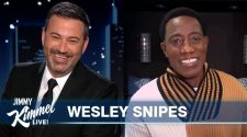 Wesley Snipes on Coming 2 America and Hanging out with Eddie Murphy & Stevie Wonder - Jimmy Kimmel Live