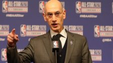 Adam Silver talked about embracing new technology and the NBA's broadcast relationship with China