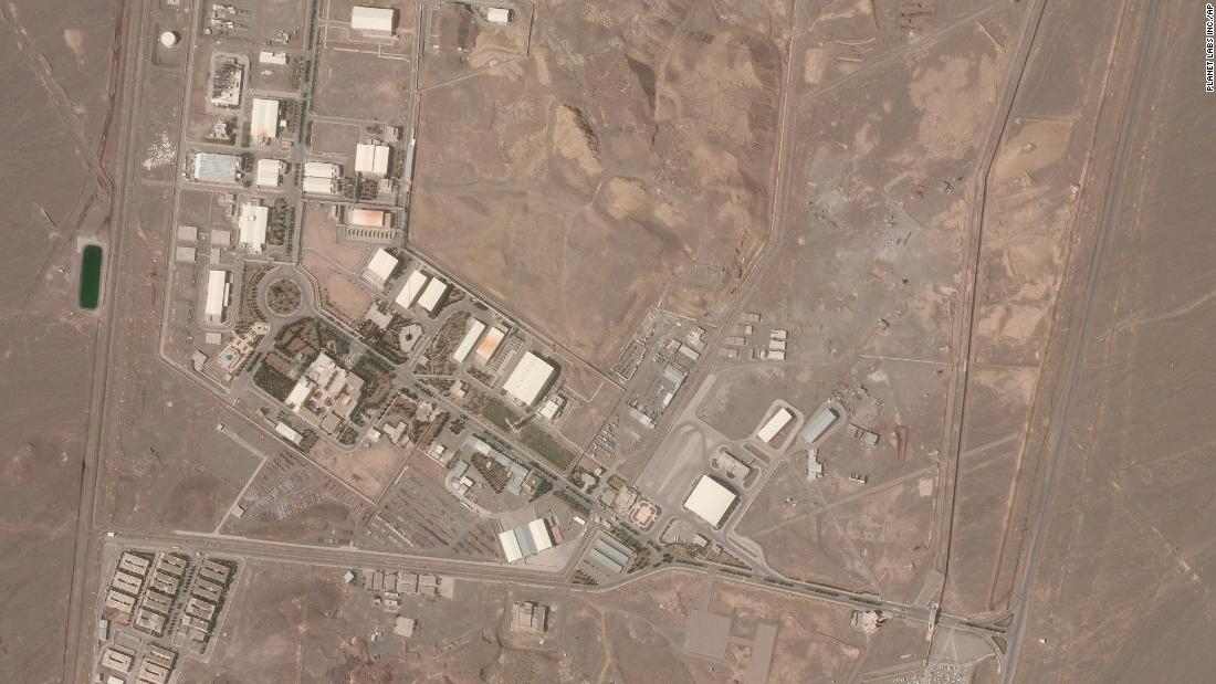 Iran nuclear incident: Israeli army chief appears to hint at possible role in Natanz facility blackout