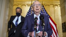 McConnell accuses Biden of breaking promise to unify