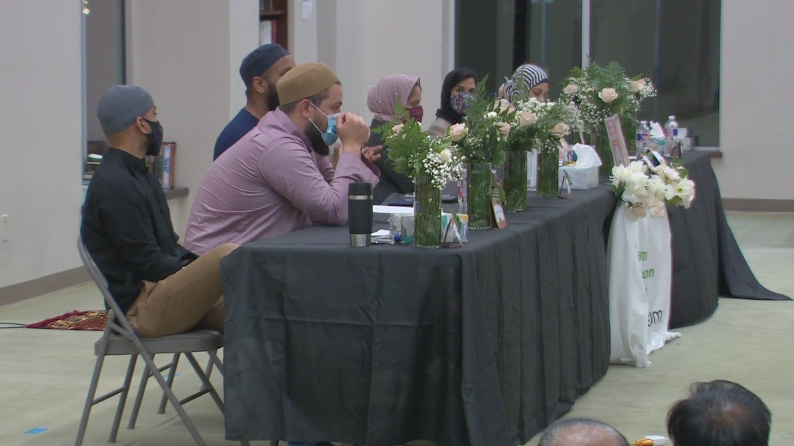 Allen mosque hosts roundtable discussion on mental health following Towhid family murder-suicide