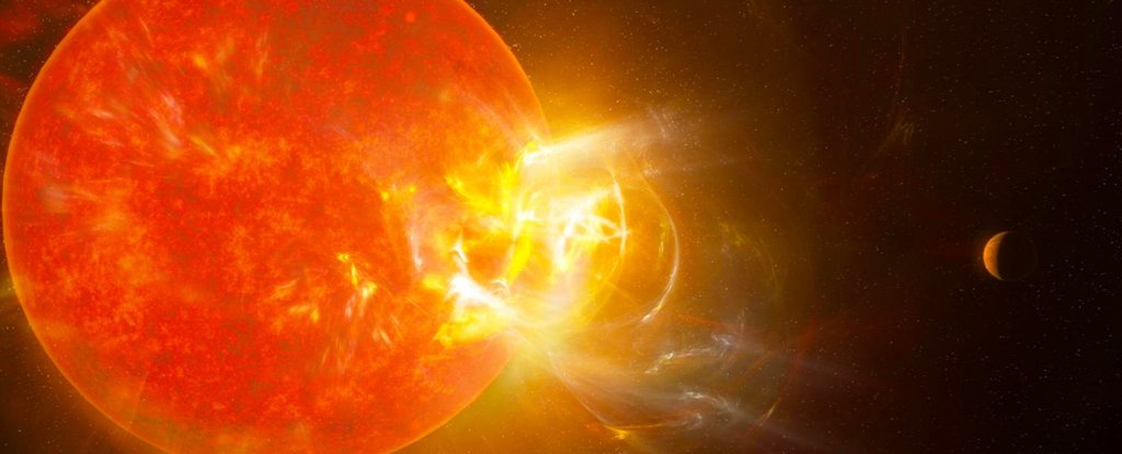 A Record-Breaking Flare Has Erupted From The Closest Star to Our Solar System
