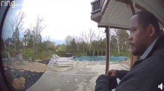 Doorbell cam shows man put on mask, gloves before breaking into Jefferson County home