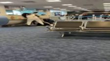 Fist fights break out at Miami International Airport, Gate D14
