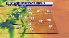 Record-breaking temperatures possible Monday afternoon