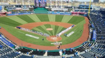 Royals beat Rangers on Opening Day, break records