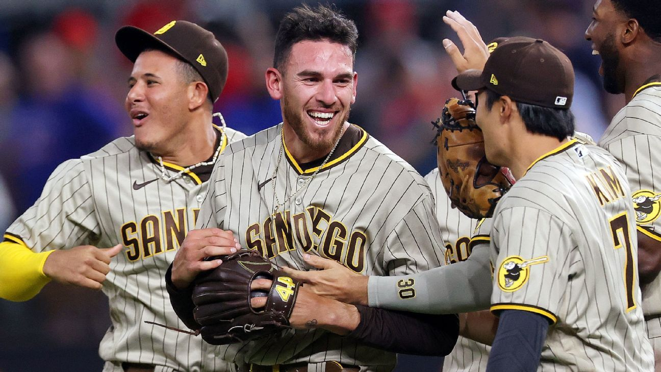 San Diego area native Joe Musgrove throws first no-hitter in Padres history in win over Texas Rangers