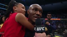 """UFC 261: Kamaru Usman Octagon Interview 