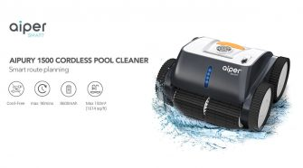 Pool Cleaner Using Latest Technology for the Best Cleaning Cycle and Maximum Coverage is Now Available for Summer Swimming