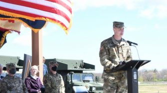 Fort Drum, Army Corps of Engineers officials break ground on new UAS facility | Article