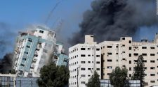 Israeli-Palestinian clashes: Israeli strikes hit home in Gaza refugee camp, media offices as conflict intensifies