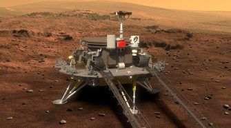 First images from China's Mars rover might take awhile to reach Earth