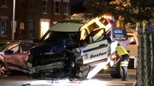 3 transported following officer-involved crash in Roxbury – Boston 25 News