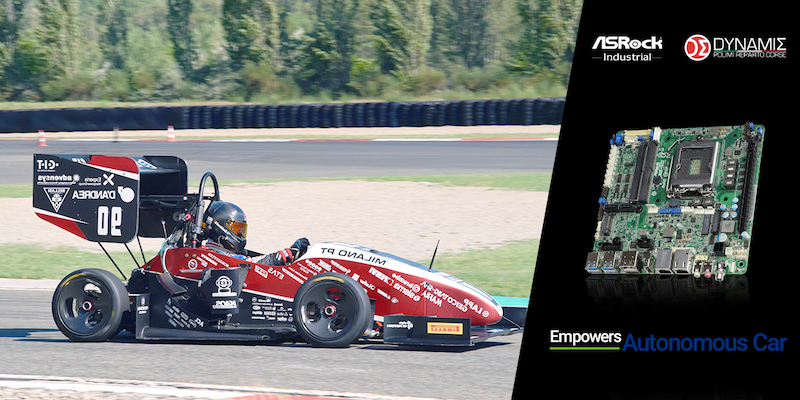 ASRock Industrial and Dynamis PRC to provide autonomous car technology for 2022 Formula Student Championship