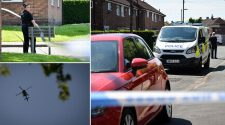 BREAKING: Police cordon off Salford streets after boy, 17, stabbed multiple times
