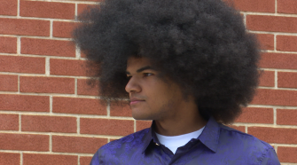 New Century Technology High School grad, Air Force Academy commit gets haircut for good cause