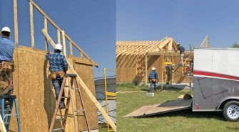 OTC Construction Management Technology Students and Habitat for Humanity Bulloch Co to Build Home in Downtown Statesboro