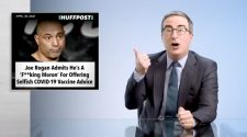 John Oliver Rips Into 'Moron' Joe Rogan Over COVID Vaccines