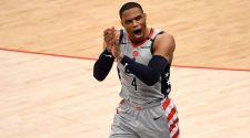 Russell Westbrook delivers on midseason vow, leads Washington Wizards to playoffs