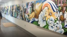 Local artist creates mural to honor pandemic frontline heroes at Duke Health