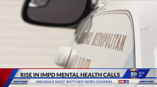 IMPD, Eskenazi crisis team responding to more mental health crisis calls this year over 2020