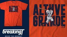 The Altuve Grand Slam Breaking T Shirt Available Now
