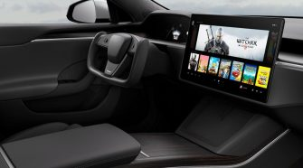 AMD confirms it's powering the gaming rig inside Tesla's Model S and Model X