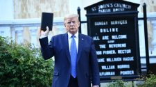Trump Bible photo not reason cops cleared George Floyd protest, feds claim