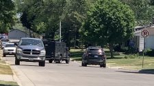 Waterloo police attempting to negotiate with unknown subject near Kittrell Elementary school
