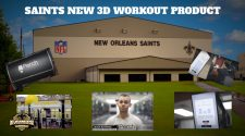 New Orleans Saints Install 3D Camera Technology for Player Workouts